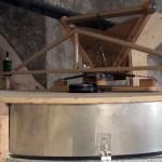 moulins de biocourt - capot de la meule